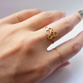 Perche? - bubble dia ring