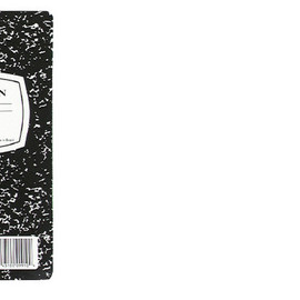 Mead - Square Deal® Black Marble Composition Book