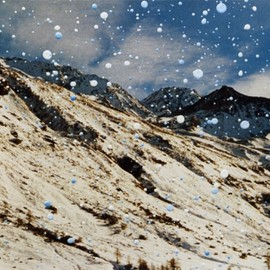 Gerhard Richter - Fex, Piz Tremoggia  (4 March 92)