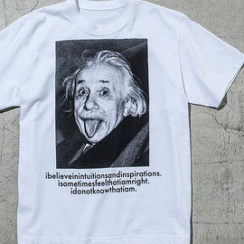 sacai - Albert Einstein T-Shirt