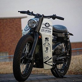 HONDA - Super Cub by kerorin18