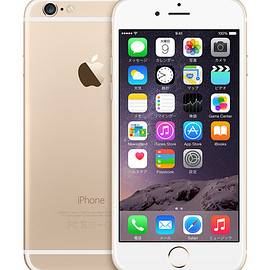 Apple - iphone6 64GB Gold