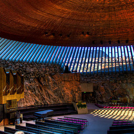 Finland - Temppeliaukio Church