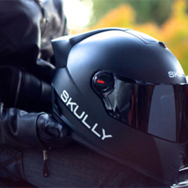 SKULLY HELMETS - Heads-Up Display (HUD) Helmet   Skully P1