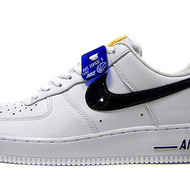 "NIKE - ""LIMITED EDITION for NSW"" ナイキ NIKE (WMNS) AIR FORCE 1 '07 SE WHITE/BLACK/LASER ORANGE"