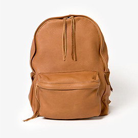hobo - Deerskin Leather Backpack 17L