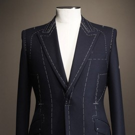 Kilgour - tailor-made Navy suit, Wool