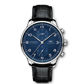 IWC - Portuguese Chronograph 150 years - Blue -