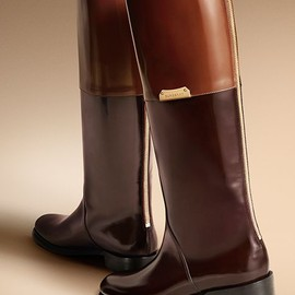 Burberry - Equestrian Boots