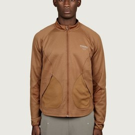 GYAKUSOU - Men's Tan Dri-Fit Thermal Jacket