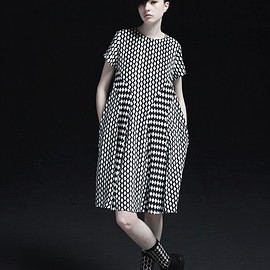 mintdesigns × Fred perry - Printed Dress