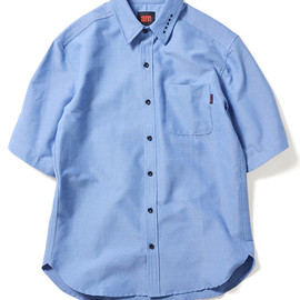 am - am (エーエム) after midnight 5 Star Chambray Short Sleeve Shirt 半袖シャンブレーシャツ am14ss13