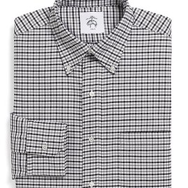 BLACK FLEECE BY Brooks Brothers - Gingham Oxford Button-Down Shirt