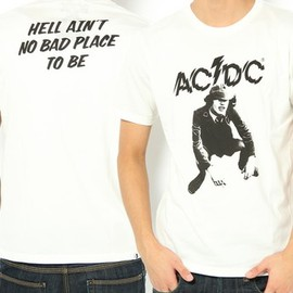 HYSTERIC GLAMOUR - ACDC/PLUG ME IN pt T-SH