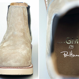 MADE IN GM JAPAN, Ron Herman - Side Gore Boots/Beige