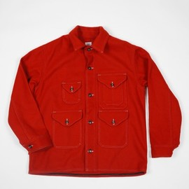 POST O'ALLS - Wool Cruzer Jacket Red