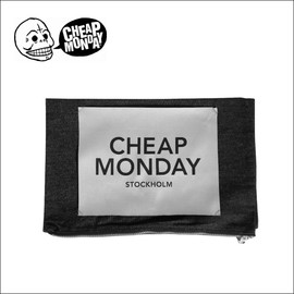 CHEAP MONDAY - Denim clutch bag