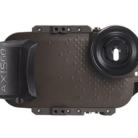 AquaTech - AxisGO 7+ Water Housing for iPhone 7 Plus / iPhone 8 Plus Tactical Green