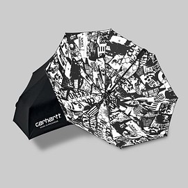 Carhartt WIP - Collage Umbrella - Black/White