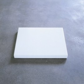 Wolfgang Laib  - Milkstone, 1998 - 2001  marble and milk  2 3/8 x 23 7/16 x 28 3/4 inches 6 x 59.5 x 73 cm  SW 02449
