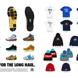 NIKE and stussy - OFF MOUNTAIN SERIES