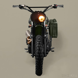Ton Up Garage - 2012 Triumph Scrambler