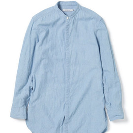 nonnative - DOCTOR LONG SHIRT - COTTON CHAMBRAY