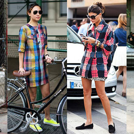 Street Style - Summer Plaid
