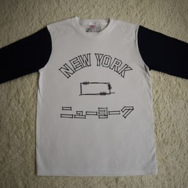 OMIYAGE by POURTON DE MOI - OMIYAGE TEE   NEW YORK
