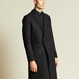 Nicolas Andreas Taralis - Double Breasted Raw Edge Coat