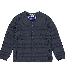 THE NORTH FACE PURPLE LABEL - Down Cardigan-Navy