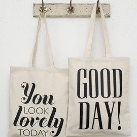 Alphabet Bags - You Look Lovely