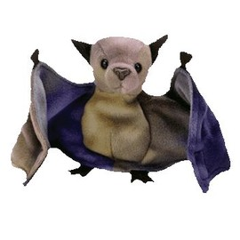 ty Beanie Babies - BATTY the Bat (TY-Dyed Version)