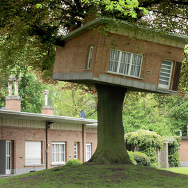 Benjamin Verdonck - Senior Center Turned Treehouse