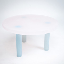 wonmin park - haze table low white