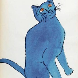 25 Cats Named Sam and One Blue Pussy By Andy Warhol, 1954 (red sam)Andy Warhol