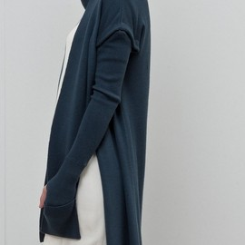 New Form Perspective - New Form Perspective -- Series 6 (ss 2012) __ long wrap neck cardigan w/ detachable sleeves