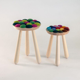 Aud Julie Befring - Cool with Wool Stool