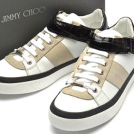 JIMMY CHOO - 2012SS Leather Low