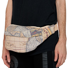 KTZ - MAP PRINTED BUMBAG