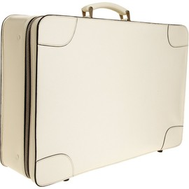 Valextra - Off-White Valextra Small 55 Costa Suitcase