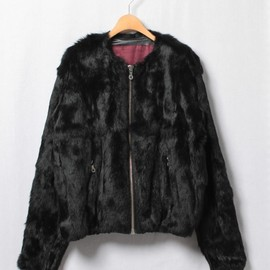 PHENOMENON - PHENOMENON(フェノメノン)/FUR ZIP JACKET/ILLJKT378