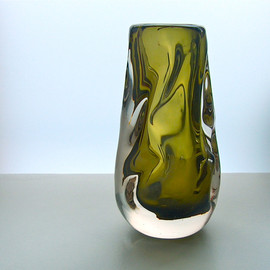 whitefriars - Glass Vase
