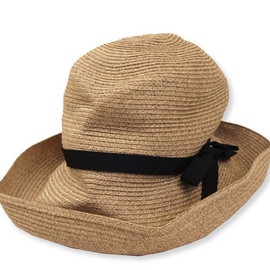 mature - brim grosgrain ribbon hat