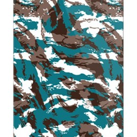 SECOND SKIN - MHAK 「CAMO_VER2 グリーン」 / for iPhone 5s/docomo