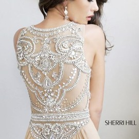 Sherri Hill - Beaded Slim Gown