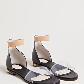 GIVENCHY - Givenchy Women's Transparent Panel Sandals