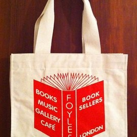 Foyles Bookstore - tote bag