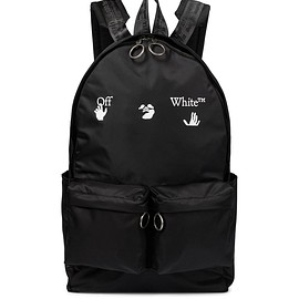 Off-White - Logo nylon backpack