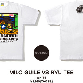 A BATHING APE - MILO GUILE VS RYU TEE